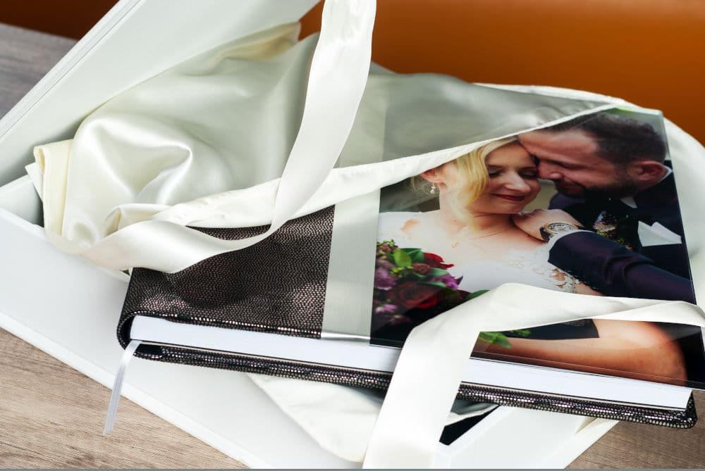 Hochzeitsalbum in hochwertiger, professioneller Ausführung